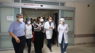 Photo of Rektör Prof. Dr. Tuncel Balcalı Hastanesi Acil Servisini Denetledi